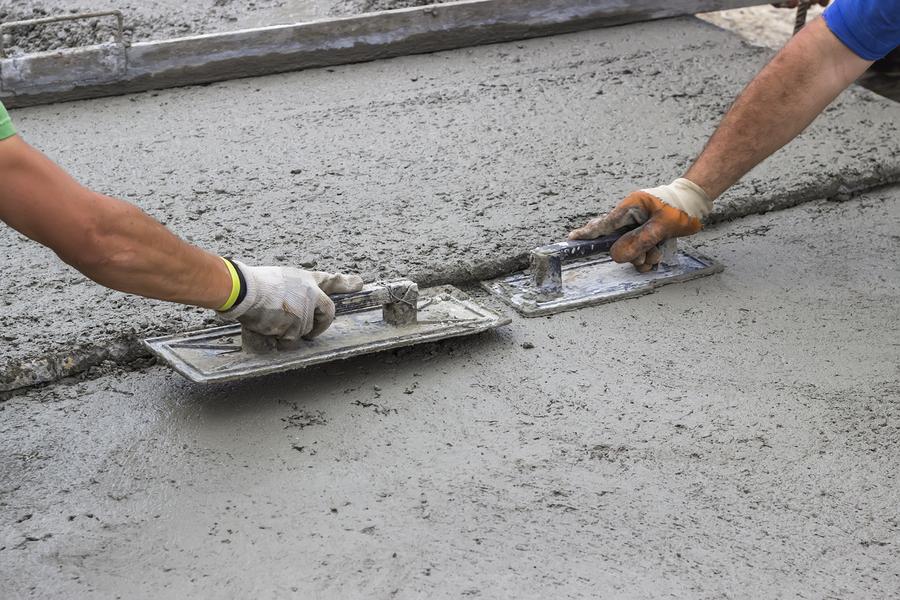 this image shows pleasanton concrete masonry concrete finishing