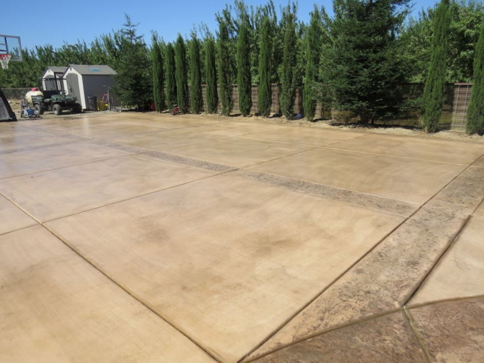 this image shows pleasanton concrete masonry driveway pavers project