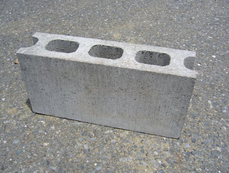 this picture shows a cinder concrete a vital material for foundation in pleasanton concrete masonry