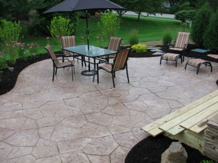 this image shows concrete patios pleasanton