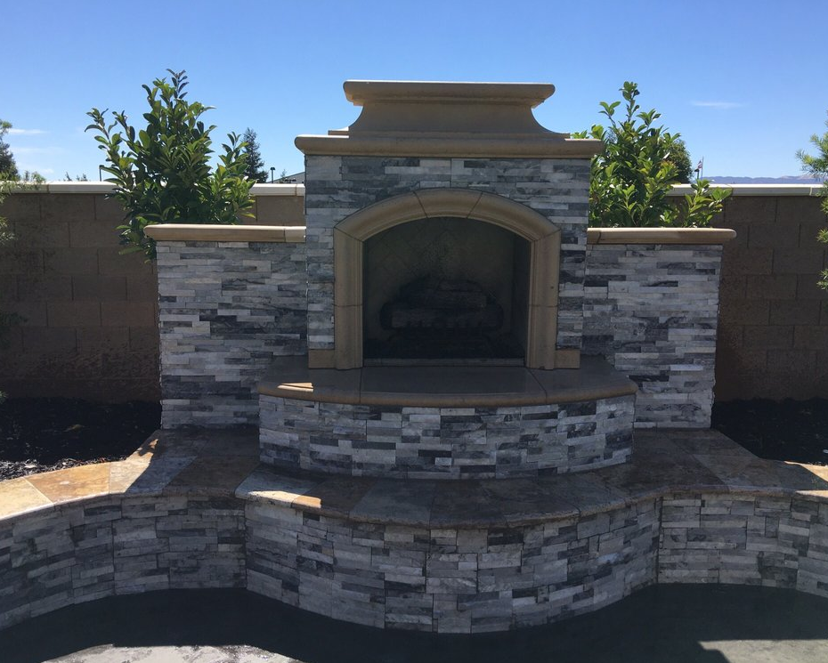 this image shows masonry contractor in pleasanton california