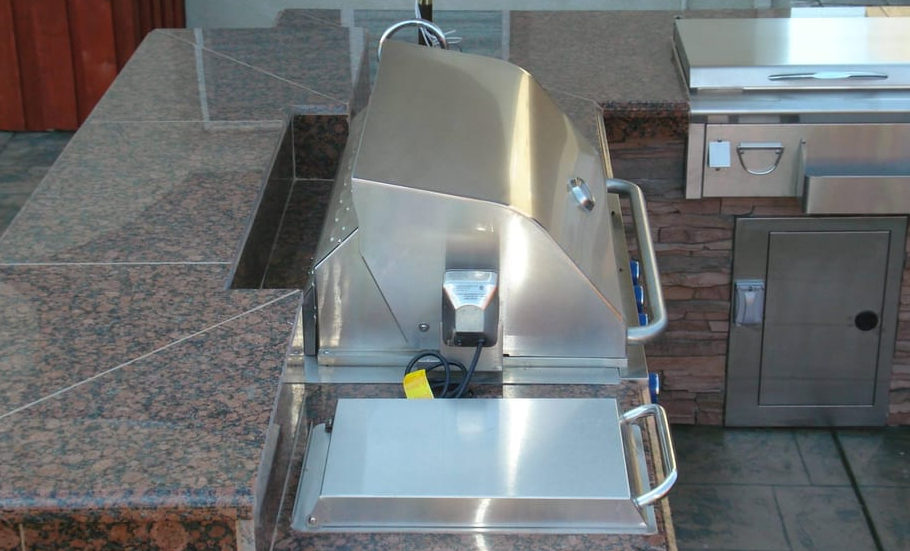 this image shows countertop in Pleasanton, California