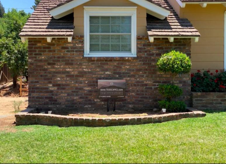 this image shows stone masonry in Pleasanton, California