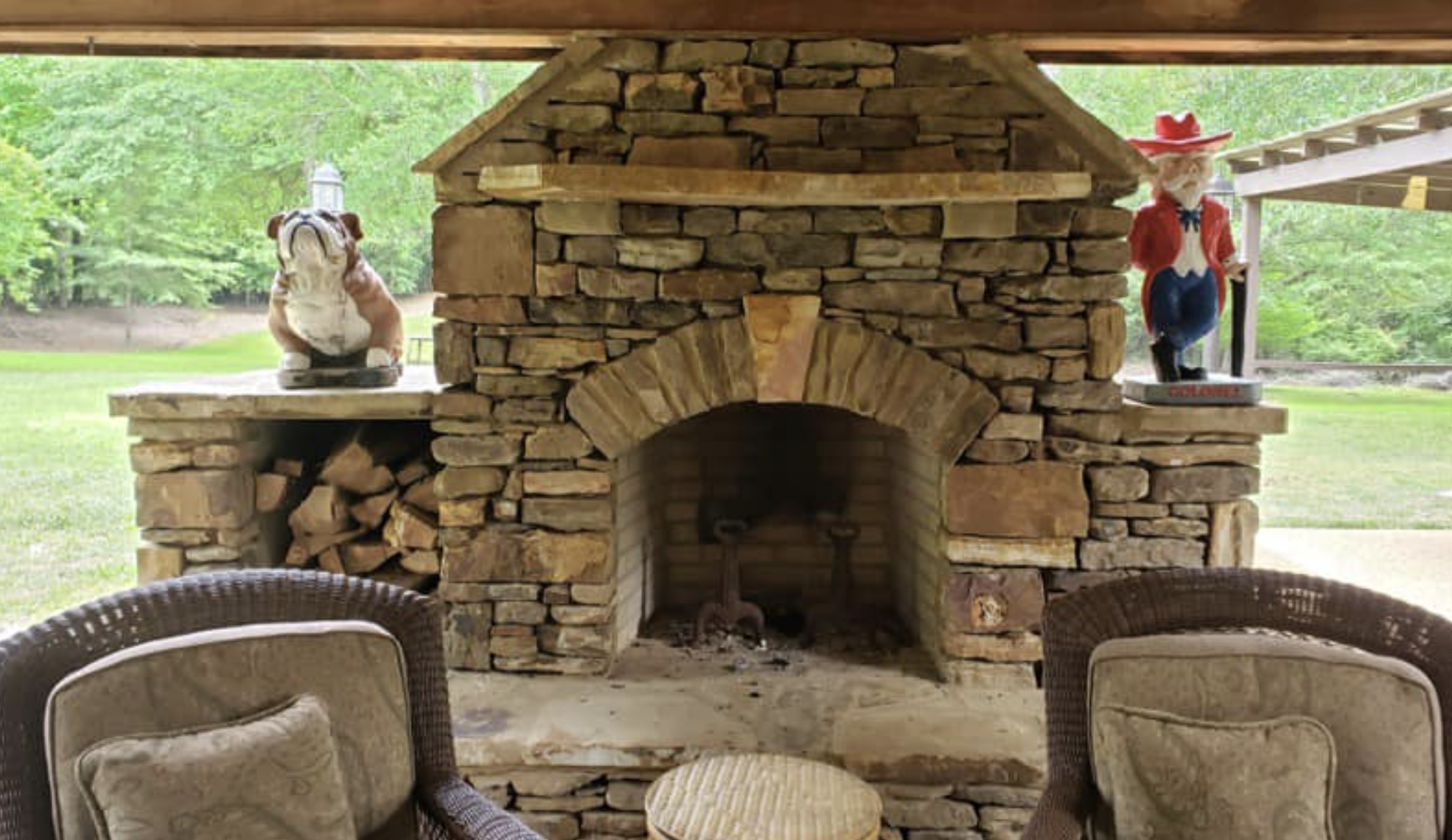 this image shows fireplace in Pleasanton, California